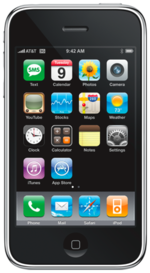 The IPhone 3G Uses A Curved Plastic Case