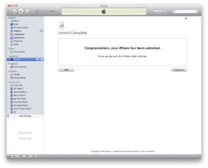 patch itunes to bypass signature request