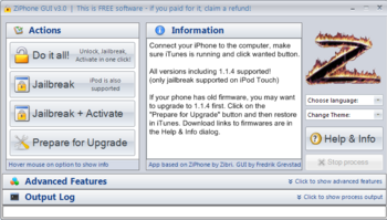 ziphone 3.0 pour mac